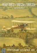 CENTENARY DATAFILE 163,RAF BE2/BE2a/BE2b